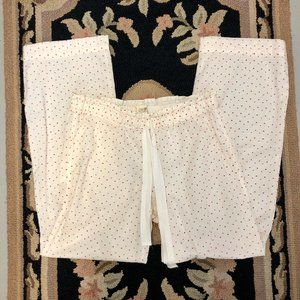 J.Crew Swiss Dot  Cotton Pajama Pants